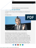 Más Riesgosa Que Grecia La Deuda Argentina Está s... Página12