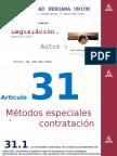 COMENTARIO Articulo 31 Ley de Contrataciones del Estado