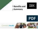 2017 IBM Benefits Summary Regular - 12.13.16 Update