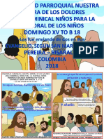 HOJITA EVANGELIO NIÑOS DOMINGO XV TO B 18 Serie