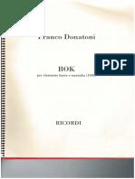 Donatoni Bok