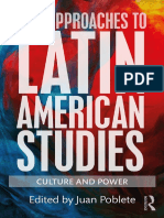 New Approaches to Latin American Studies