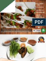 Menu Catering Paket Ayam Bakar Opa Khas Gorontalo, Ayam Bakar Enak, Ayam Bakar Spesial
