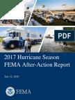 Informe de FEMA sobre respuesta al huracán María
