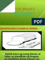 Health 4 Yunit 1 - Aralin 3