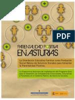 2010 Parentalidad Positiva en Asturias