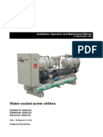 Water-Cooled Screw Chiller _ Installation_ Operation _ Maintenance Manual (EWWD-G_IOM_Installation-manual)