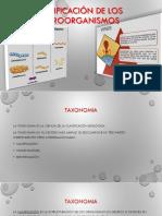 1 Clasificación de Los Microorganismos