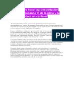 Agroexportacion en el Perú