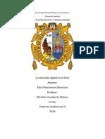 Unversidad Nacional Mayor de San Marcos