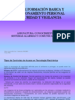 Curso Formación Basica SUCAMEC Conociniento Del Sistemas de Alarmas y Comunicaciones 2015-2017