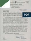 Letter Entering 5th Degree (1956)
