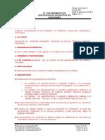 27 PROCEDIMIENTO DE DISPOSICIÓN DEL PRODUCTO NO CONFORME.doc