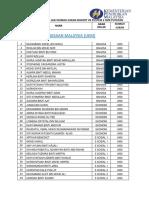 Senarai Rumah Sukan Kohort VII Pustem 2