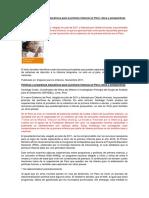 Políticas y Programas Educativos Para La Primera Infancia en Perú