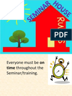 Training House Rules