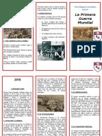 139571615 TRIPTICO Primera Guerra Mundial Doc
