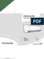 Frigidaire Manual FASC09F2MBHLW