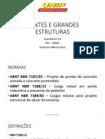 Aula introdutória de Pontes