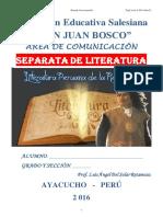 Literatura Peruana Del Siglo XXI