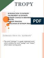 Unit 7 - Entropy