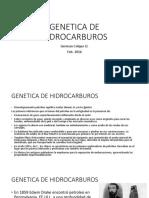 2.0 Genetica de Hidrocarburos