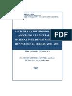 Factores epidemiologicos