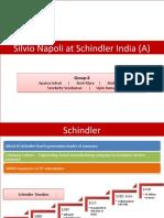Schindler Case Group-8(D)