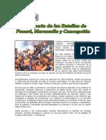 9 de JULIO - Aniversario de Las Batallas de Pucará, Marcavalle y Concepción.