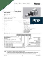Reducteurs Drrp Bosch Rexroth Hydraulique b