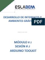 3 Sesion Arduino Toolkit