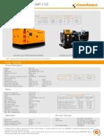 Grupo Electrógeno MF 110