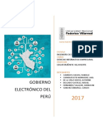 Gobierno Electronico Perú Agregada