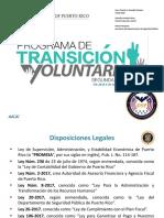 Programa de Transicion Voluntaria - PTV 2 0 DSP CF Rev 4-26 Rev. RMM Manual Transición Voluntaria DSP Policia