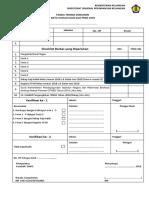 Checklist Berkas Rekon Belanja Pegawai 2018