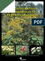 Arbustos Nativos Ornamentales Centro Sur Chile