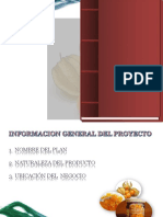 Proyecto de Inversion de Mermelada de Aguaymanto