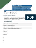 CISA Certification Training