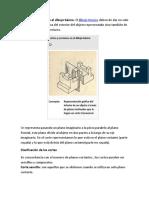 Cortes y Secciones en El Dibujo Básico