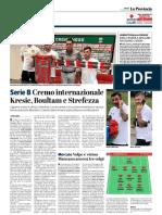 La Provincia Di Cremona 13-07-2018 - Serie B