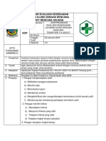 Prosedur Evaluasi Kesesuaian Layanan Klinis Dengan Rencana Terapi