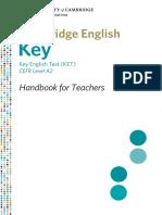 Key English Test - Handbook for Teachers.pdf