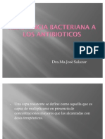 Resist en CIA Bacteriana a Los cos