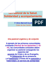 La Pastoral de La Salud. Solidaridad y Acompañamiento. P. Silvio Marinelli Zucalli Orden de San Camilo