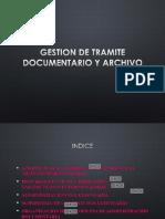 1. Gestion de Tramite Documentario