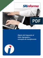Objeto Del Impuesto Al Valor Agregado y Concepto de Transferencia
