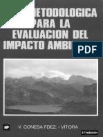 Tipologias de Impacto - V. Conesa Fdez