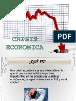 Crisis Econmica 1