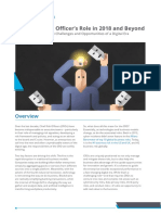 The Chief Risk Officers Role in 2018 Beyond