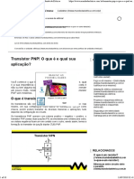 Transistor PNP - Mundo da elétrica